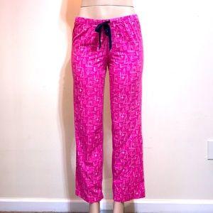 Vineyard Vines Bubblegum Pink Sailboat Pajama Pant